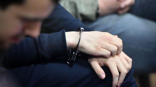 Заседание Люблинского районного суда города Москвы по делу участников движения Новое величие