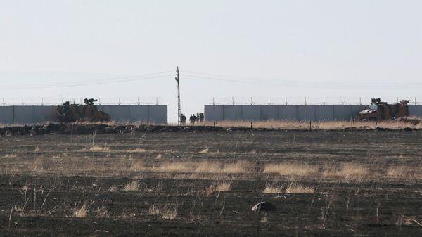 Совместный российско-турецкий патруль на северо-востоке Сирии