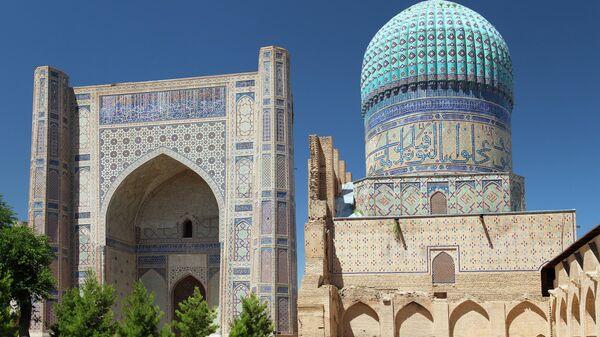 Вид из мечети Биби-Ханым