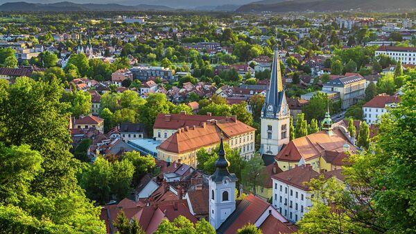 Вид на Любляну
