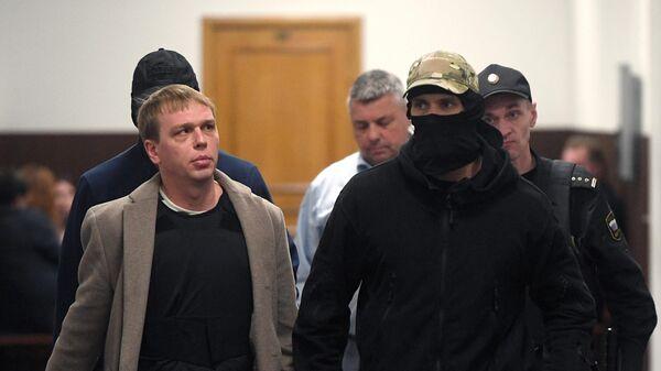 Журналист интернет-издания Медуза Иван Голунов в Басманном суде Москвы