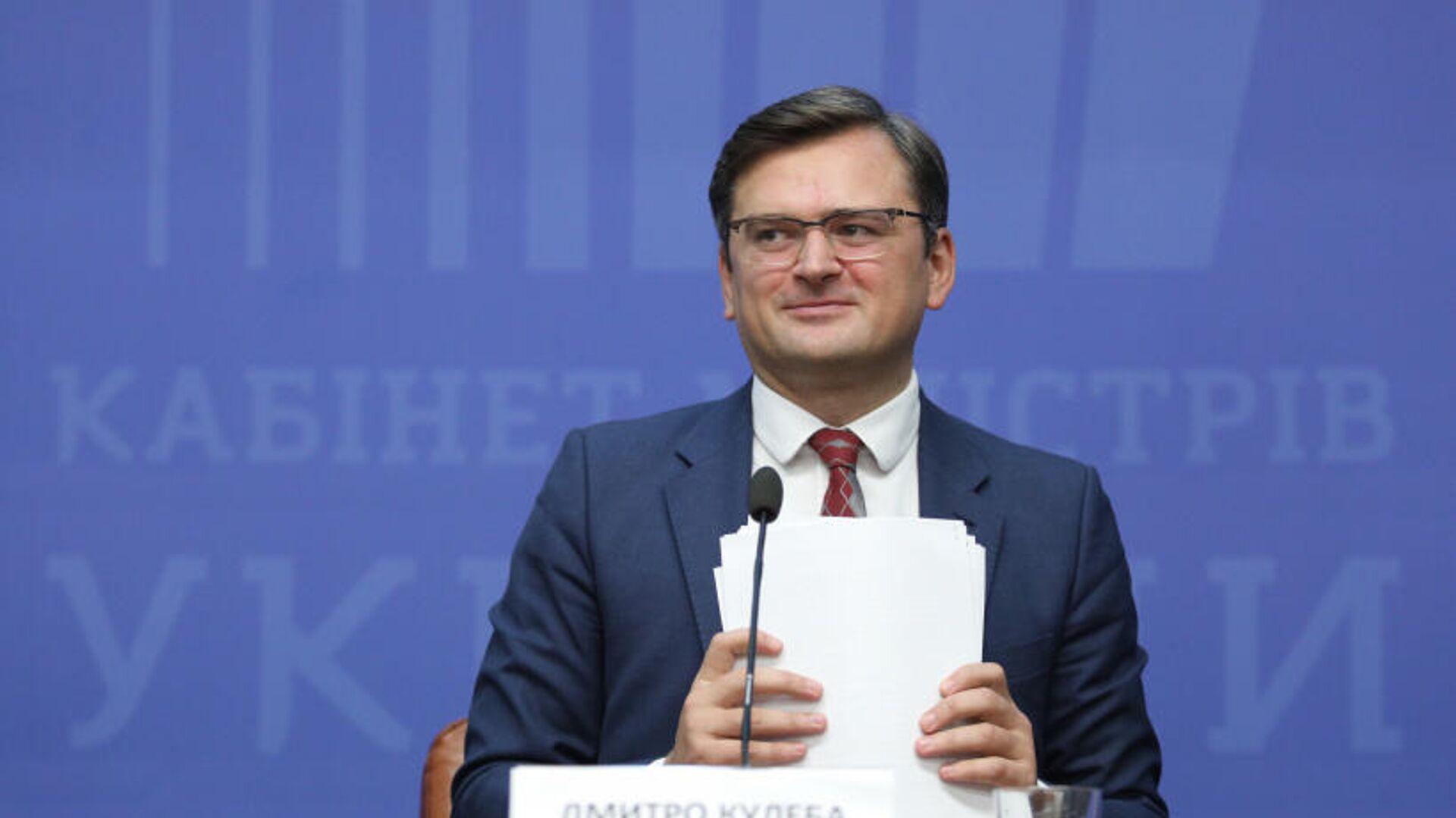 Вице-премьер-министр Украины по вопросам европейской и евроатлантической интеграции Дмитрий Кулеба - РИА Новости, 1920, 08.09.2020
