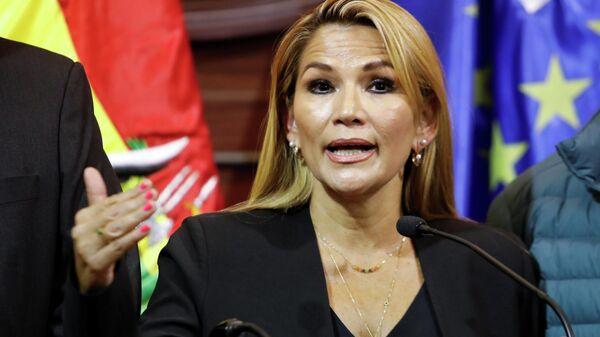 Оппозиционный сенатор Жанин Аньес