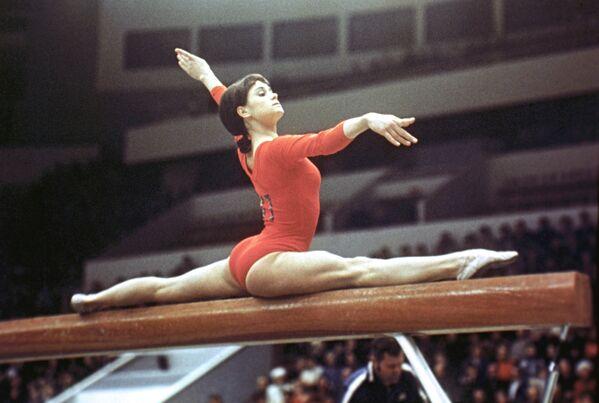 Зинаида Воронина, серебряный призер Олимпийских игр 1968 года по спортивной гимнастике