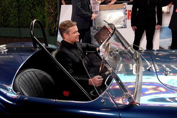 Актер Мэтт Дэймон на премьере Ford V Ferrari