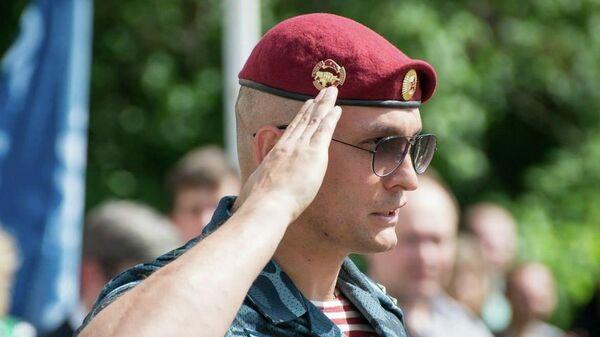 Командир отряда спецназа Сатурн УФСИН по Москве полковник Борис Николаев