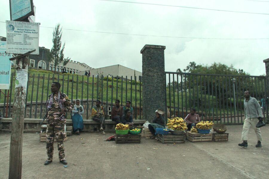 Улицы Гондэра. Эфиопия