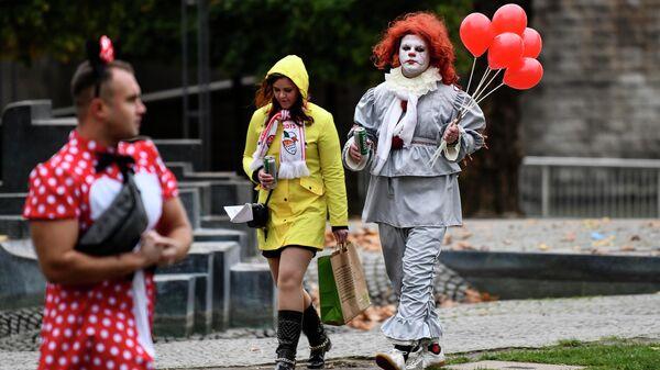 Начало карнавального сезона в Кельне, Германия