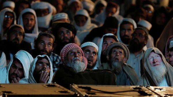 Участники оппозиционного Марша свободы в Исламабаде