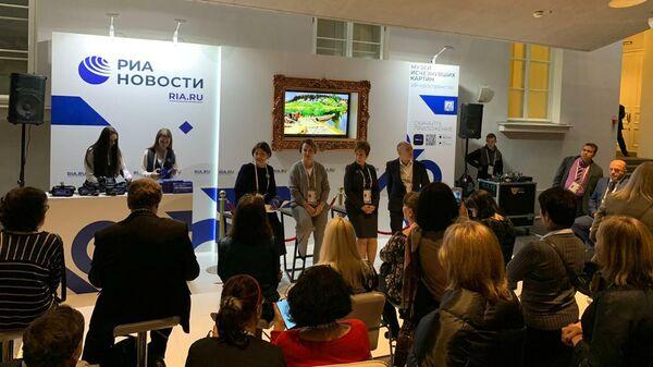 VR-проект  Музей исчезнувших картин презентовали на VIII Международном культурном форуме в Санкт-Петербурге