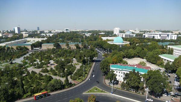 Вид на Ташкент