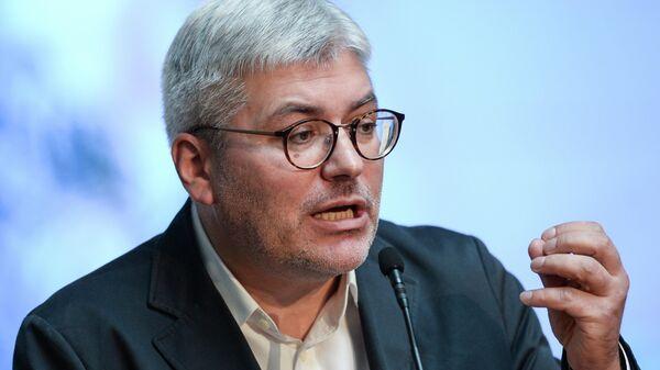 Писатель Евгений Водолазкин на церемонии вручения ежегодной общероссийской литературной премии Ясная поляна