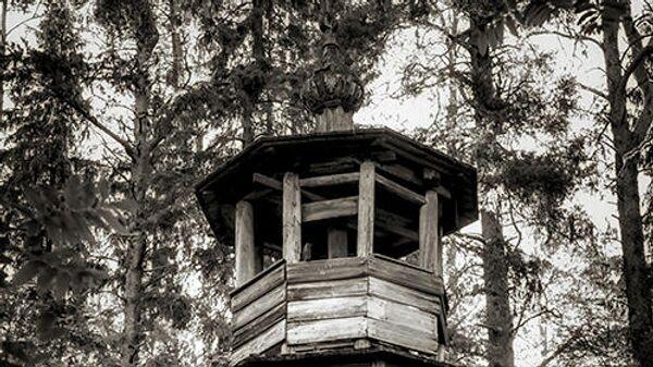 Часовня Рождества Пресвятой Богородицы, 1804 г,  дер. Тамбич-Лахта,  Кенозерский национальный парк
