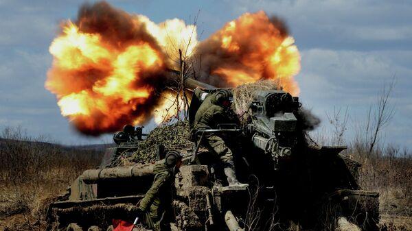 Стрельбы самоходных артиллерийских установок 2С5 Гиацинт