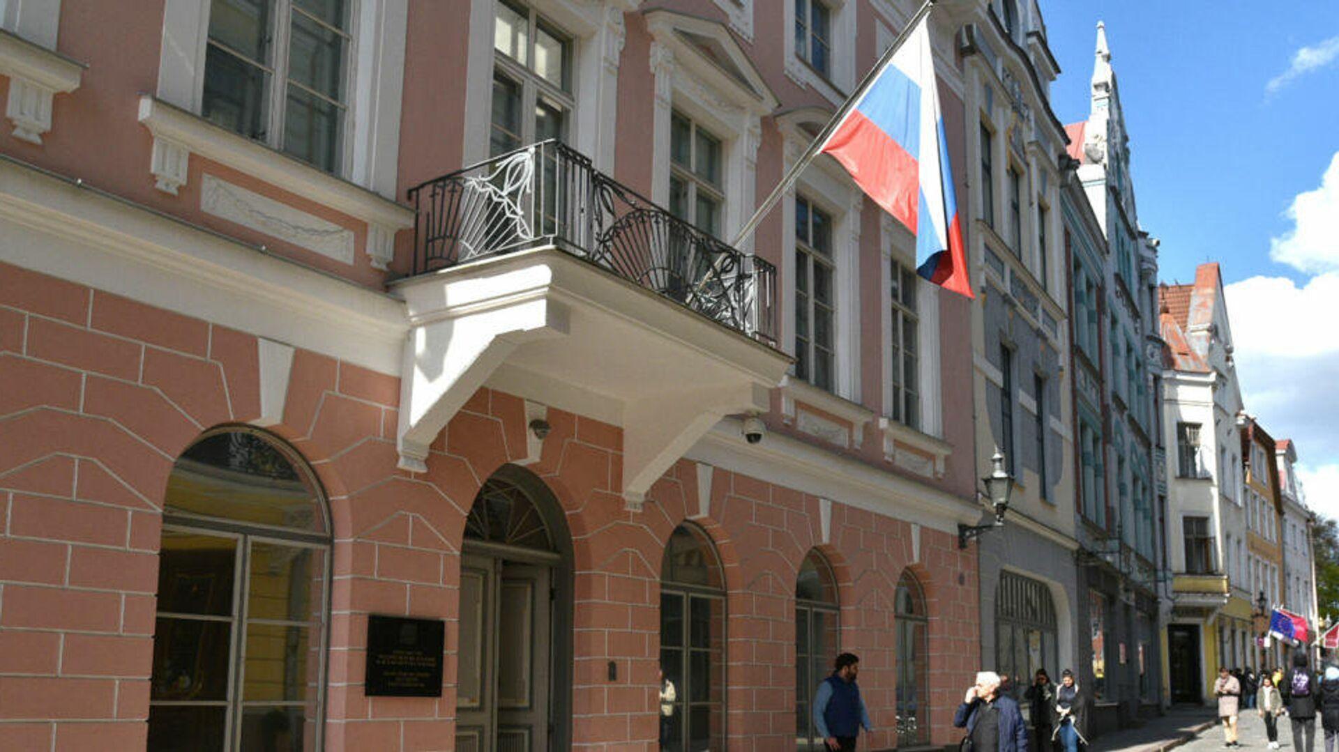 Посольство РФ в Таллине - РИА Новости, 1920, 10.04.2021