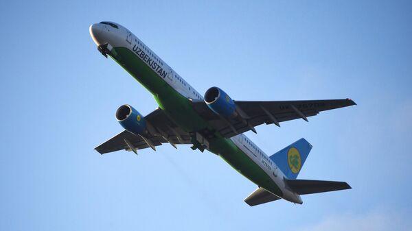 Самолет авиакомпании Uzbekistan Airways