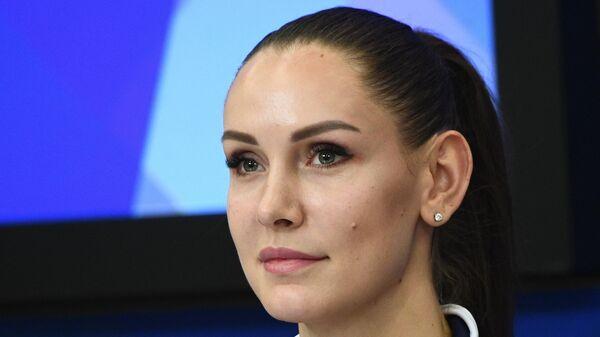 Игрок ЖВК Динамо (Москва) Наталья Гончарова