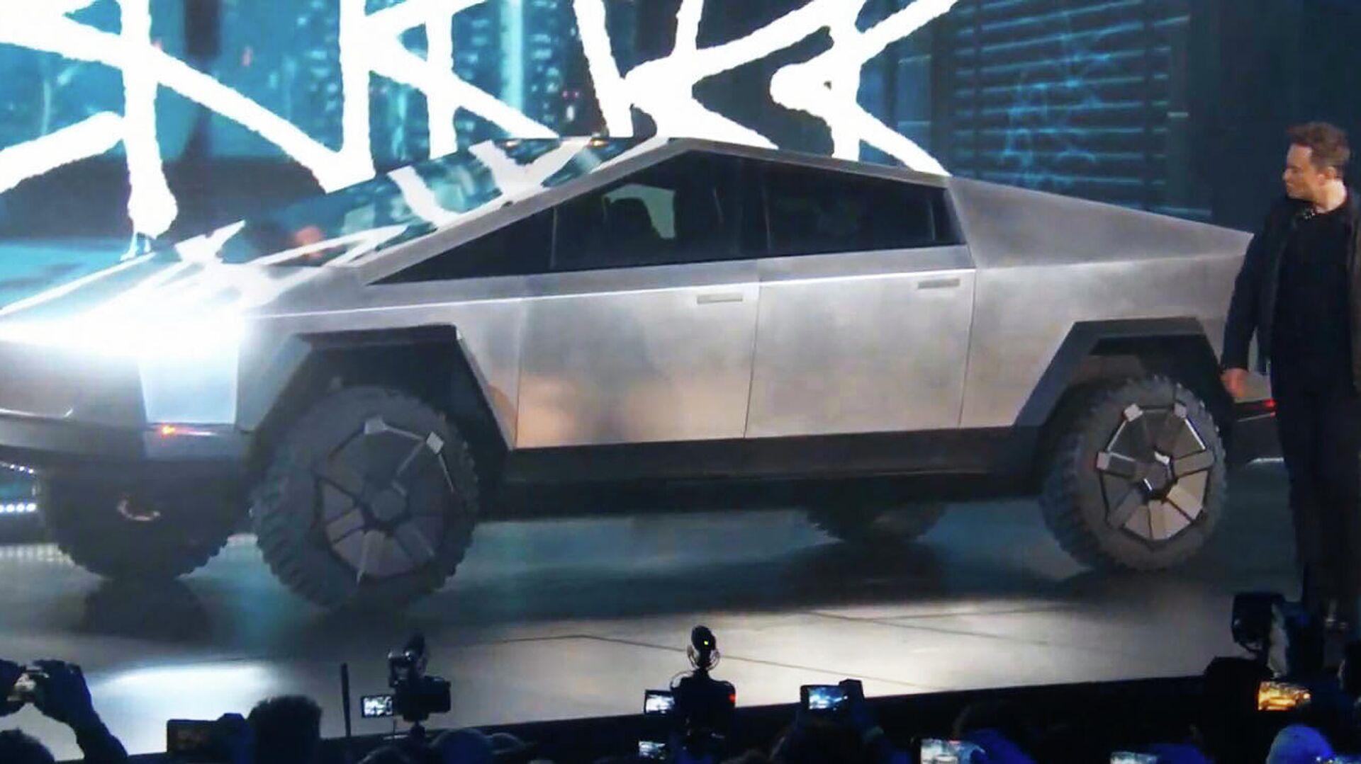 Презентация автомобиля Tesla Cybertruck - РИА Новости, 1920, 23.09.2020