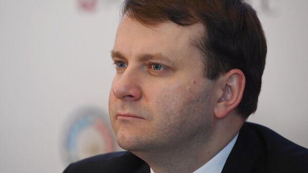 Министр экономического развития РФ Максим Орешкин на Десятом российско-азербайджанском межрегиональном форуме