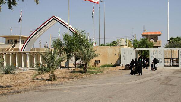 Пограничный переход между Ираком и Ираном