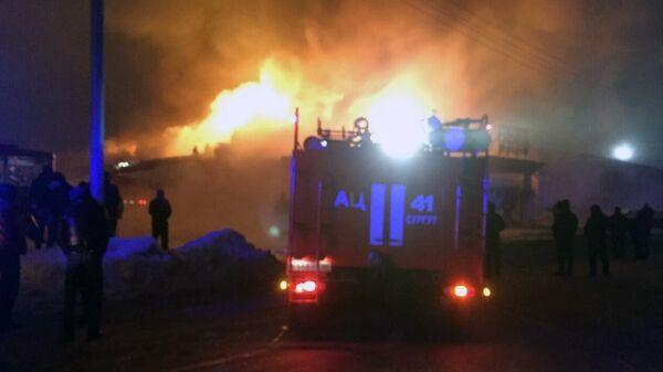 Пожар в ресторане Кристалл в Ханты-Мансийском автономном округе