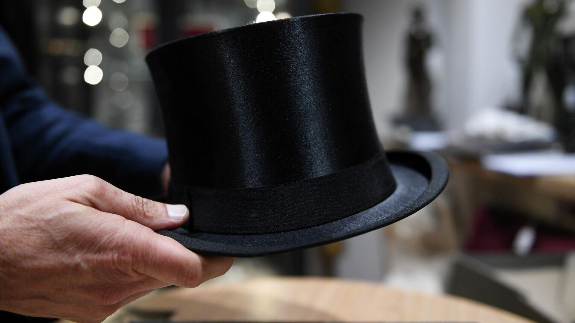 Шляпа Адольфа Гитлера на аукционе в Мюнхене, Германия. 20 ноября 2019 - РИА Новости, 1920, 25.11.2019
