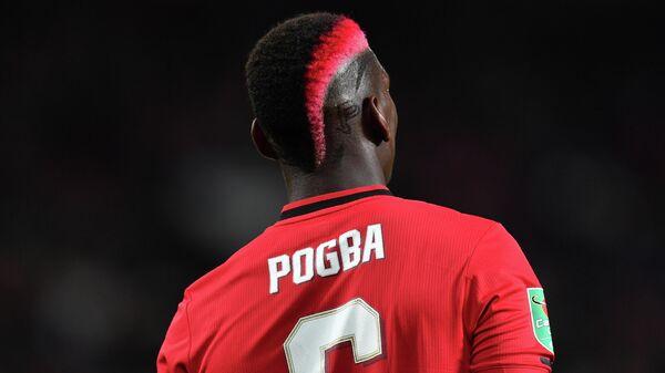 Игрок ФК Манчестер Юнайтед Поль Погба
