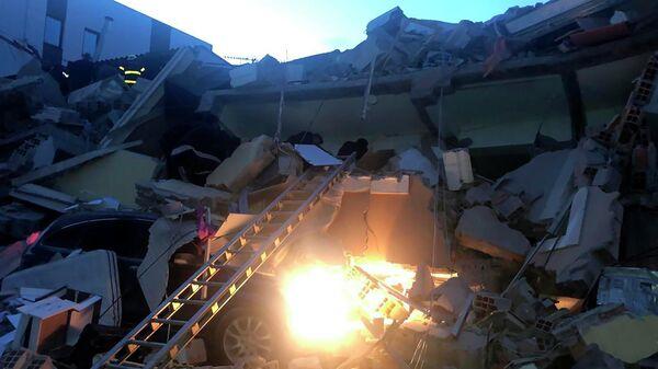 Последствия землетрясения в Албании. 26 ноября 2019