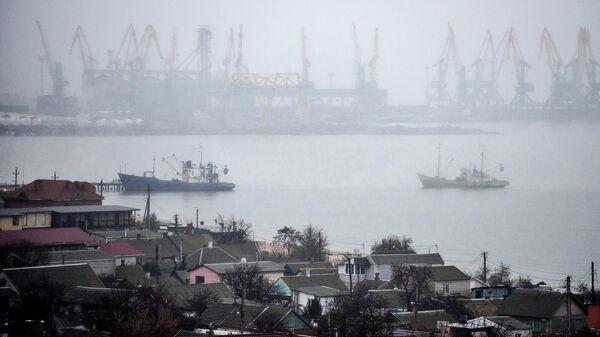 Торговый порт Бердянска