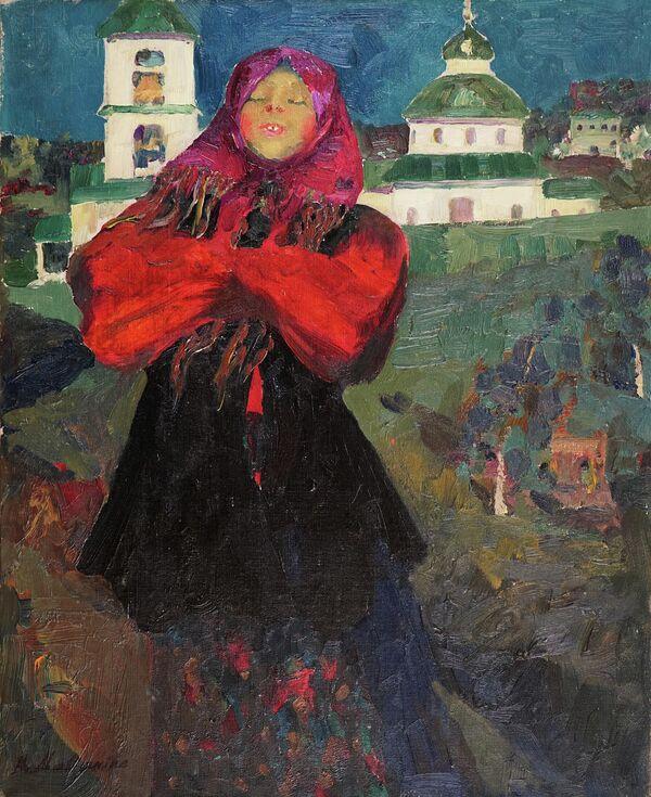 Баба, Ф.А. Малявин, галерея Веллум