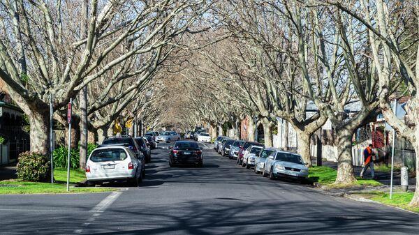 На улице Мельбурна
