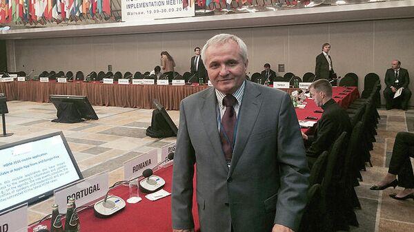 Глава крымской болгарской национально-культурной автономии Иван Абажер