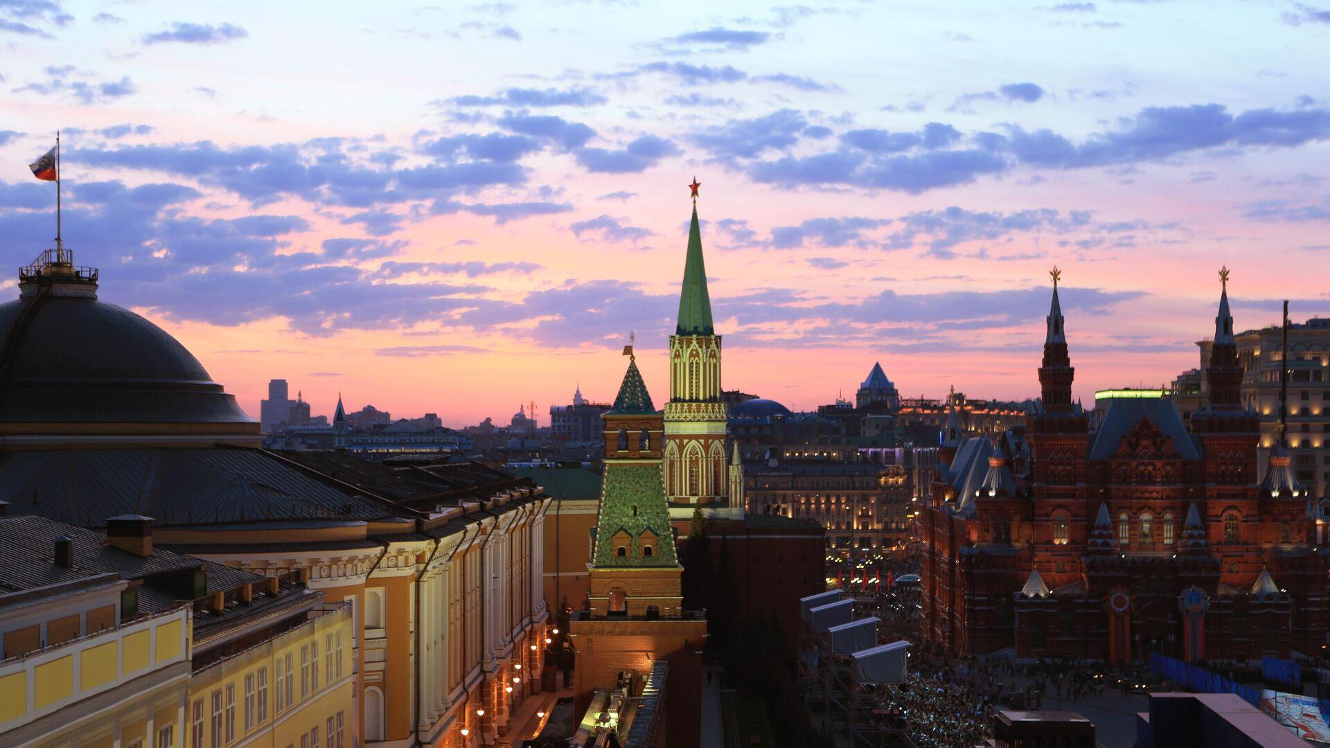 Московский Кремль - РИА Новости, 1920, 06.08.2020