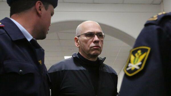 Бывший министр финансов Московской области Алексей Кузнецов в суде