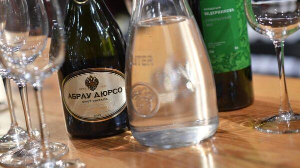 Дегустация отечественных вин Абрау Дюрсо и Ведерниковъ в бутике Vino Birra Bar