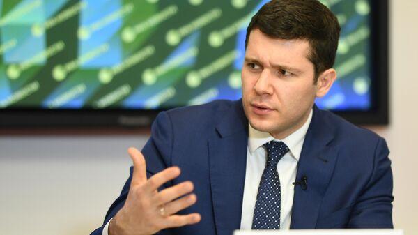 Губернатор Калининградской области Антон Алиханов