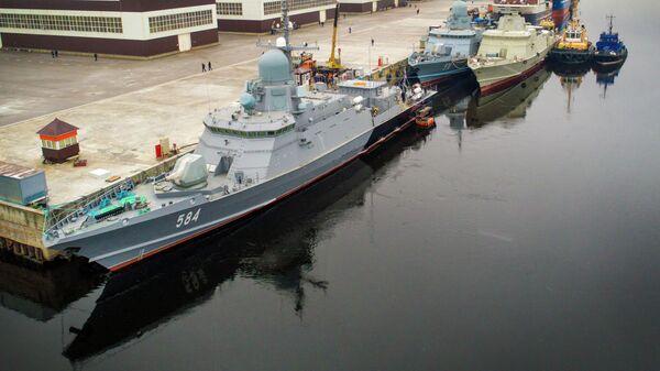 МРК Одинцово с комплексом Панцирь-М