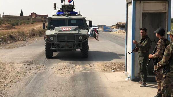 Бронеавтомобиль патрульной службы военной полиции России
