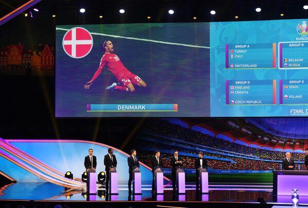 Церемония жеребьевки ЕВРО-2020