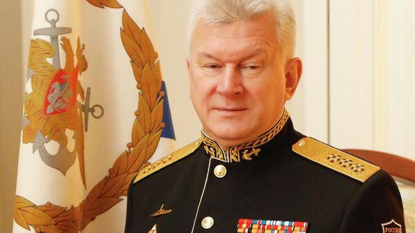 Главнокомандующий Военно-морским флотом России адмирал Николай Евменов