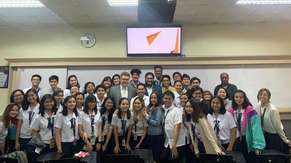 Филиппины посетила делегация представителей российских СМИ