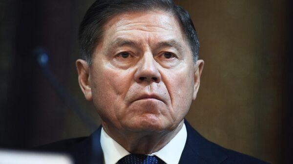 Председатель Верховного суда России Вячеслав Лебедев на пленарном заседании Совета судей в Москве