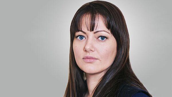 Заместитель руководителя Департамента предпринимательства и инновационного развития города Москвы Олеся Беленькая