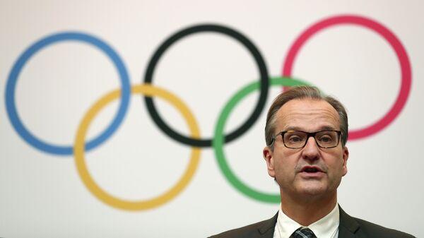 Представитель Международного олимпийского комитета (МОК) Марк Адамс