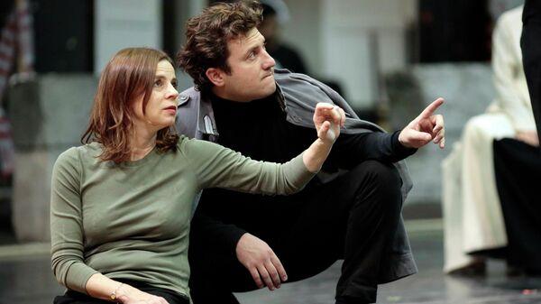 Репетиция оперы Дидона и Эней в Большом Театре