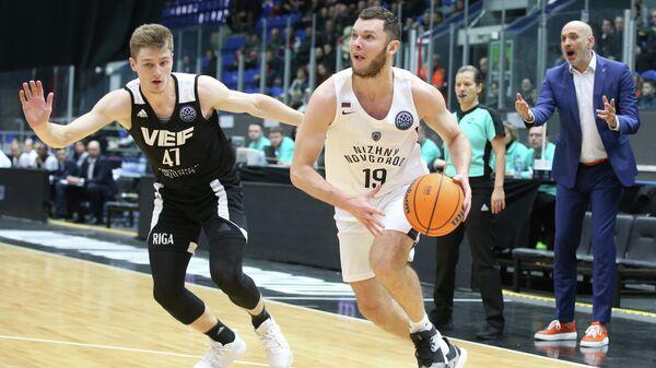 Баскетболисты Нижнего Новгорода и ВЭФ