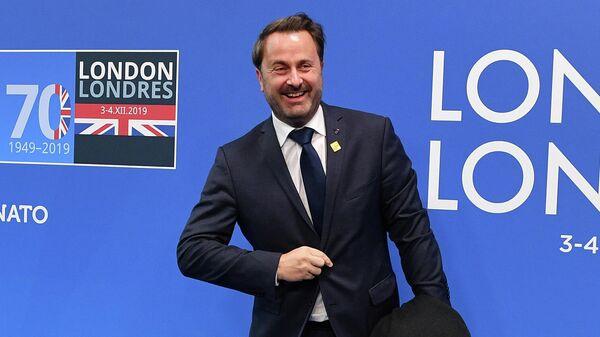 Премьер-министр Люксембурга Ксавье Беттель на саммите НАТО в Лондоне