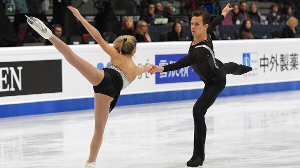 Ксения Ахантьева и Валерий Колесов