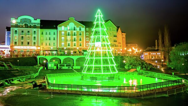 Рязань - Новогодняя столица 2020. Елка на Мюнстерской площади и Лыбедский бульвар