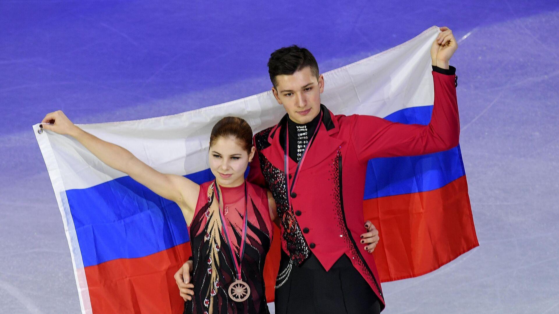 Анастасия Мишина и Александр Галлямов - РИА Новости, 1920, 08.10.2020